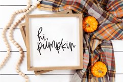 Fall Phrases - SVG and Symbols Font Product Image 6