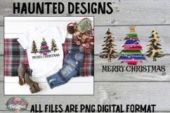 Merry Christmas Tree Sublimation Bundle Clip Art Design Product Image 2