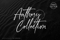 Anthery Collection a Handwritten Script Font Product Image 1