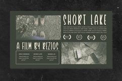 Web Font TheBlackout - Cinematic Display Font Product Image 6