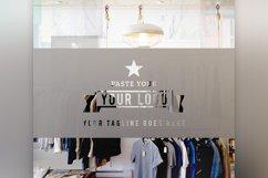Store Front Vinyl Logo Mockup  Product Image 5