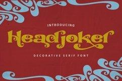 Headjoker - Decorative Serif Font Product Image 1