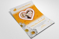 Mother's Day Flyer Template Product Image 3
