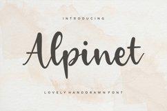 Alpinet Lovely Handwritten Font Product Image 1