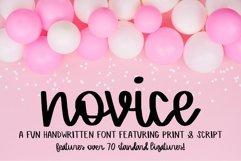 Novice - A Handwritten Script Font Product Image 1
