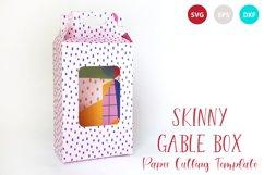 Skinny Gable Box Template Product Image 1