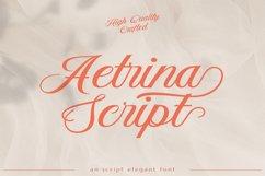 Aetrina Elegant Script Display Product Image 1