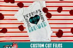 Mommy's Little HeartBreaker SVG Product Image 2