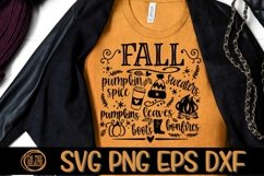 Fall Svg - Pumpkin Spice - Sweaters - Bonfires- DXF PNG SVG Product Image 2