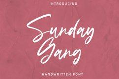 Sunday Gang   Handwritten Font Product Image 1