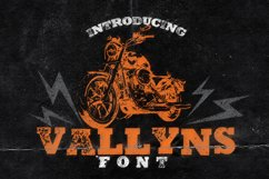 Vallyns Font Product Image 1