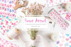 Heart Attack: Watercolor Prints Product Image 1