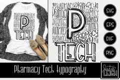 Pharmacy Tech Typography Product Image 1
