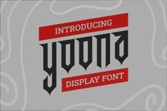 Web Font Yoona Font Product Image 1
