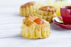 Breakfast coffee flaky pastry Product Image 1