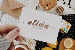 Amelia Modern Calligraphy Font Product Image 4