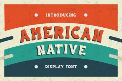 American Native Font Product Image 2