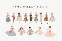 Vintage Woman Portraits Collection - Ladies - Fashion Product Image 4