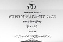 Attila | Modern Calligraphy Font Product Image 5