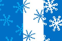 Christmas bundle with snowflakes and patterns Product Image 4