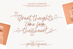 Pretty Queen Lovely Brush Font Product Image 3
