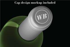 Wine Mockup Set - Photoshop PSD Product Image 6