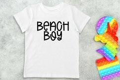Web Font Beach Camping - A Quirky Handlettered Font Product Image 3