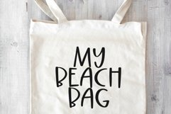 Web Font Beach Palms - Quirky Handwritten Font Product Image 6