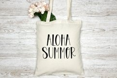 Web Font Beach Party - A Quirky Handlettered Font Product Image 4