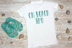 Web Font Beach Party - A Quirky Handlettered Font Product Image 3