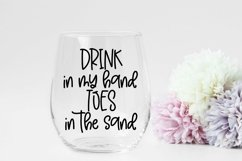 Web Font Beach Please - A Handlettered Font Pair Product Image 2