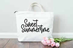 Web Font Beach Please - A Handlettered Font Pair Product Image 3