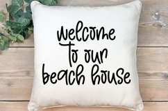 Web Font Beach Please - A Handlettered Font Pair Product Image 4