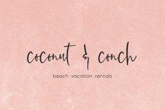 Beach Town Script Product Image 6