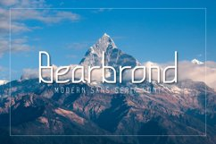 Robucai a modern sans serif font Product Image 1