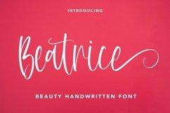 Web Font Beatrice - Beauty Handwritten Font Product Image 1