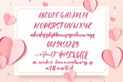 Web Font Beauty Heart - A sweet Font Product Image 2