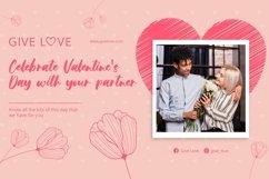 Web Font Beauty Heart - A sweet Font Product Image 4