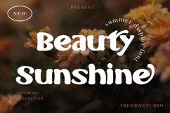 Beauty Sunshine - Summer Display Product Image 1