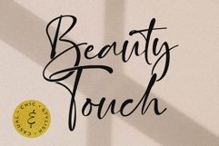 Beauty Touch - Lovely Fonts Product Image 1