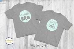 Sister Brother Big Little Bundle SVG PNG DXF Cutting File Product Image 4