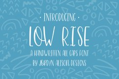 The Perfect Pair, Highwaisted and Low Rise Font Bundle Product Image 6