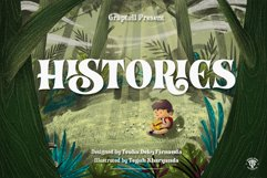 Histories Font Product Image 1