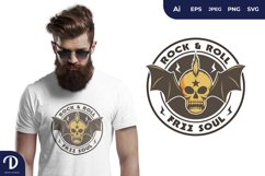 Rock and Roll for T-Shirt Design Product Image 1