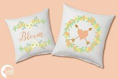 Summertime Wedding graphics, clipart, illustration AMB-1309 Product Image 5