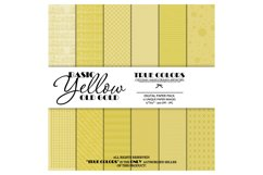 Digital Paper Pack Old Gold Paper Pack Yellow Digital Paper Product Image 1