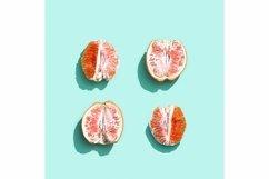 Bright grapefruit or red orange, minimal concept Product Image 2
