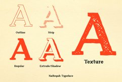 Nafisyah Slab Display Font Collection Product Image 2