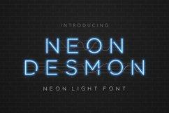 Neon Desmon - Neon Light Font Product Image 1