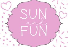 Water Park - A Cute Handwritten Font Product Image 2